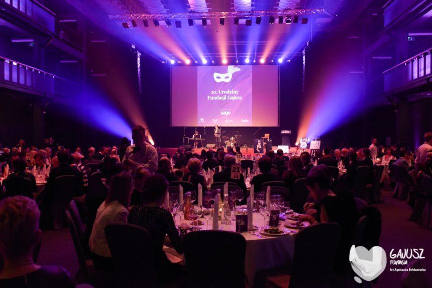 Bal charytatywny z okazji 20-lecia działalności Fundacji Gajusz